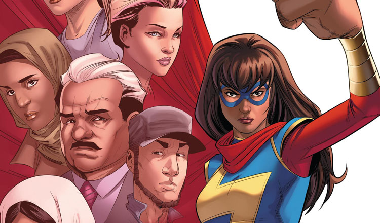Ms. Marvel #19 Review Cover Feature