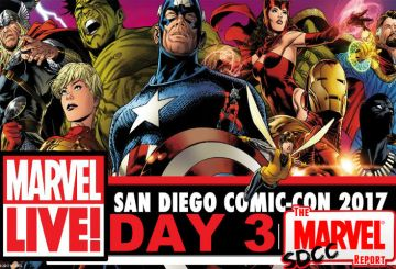 SDCC Marvel LIVE Day 3