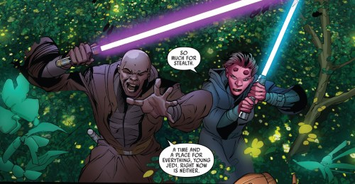 Jedi of the Republic Mace Windu #1 Review Time and Place