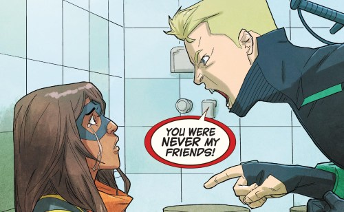 Ms. Marvel #21 Review Josh Discord