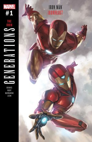 Generations Iron Man And Ironheart #1 Cover