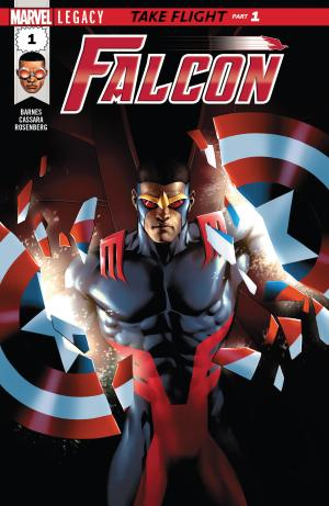Falcon #1 Review Cover