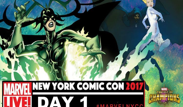 NYCC 2017 Marvel LIVE Day 1