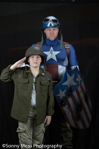 ACE Comic Con Arizona Captain America