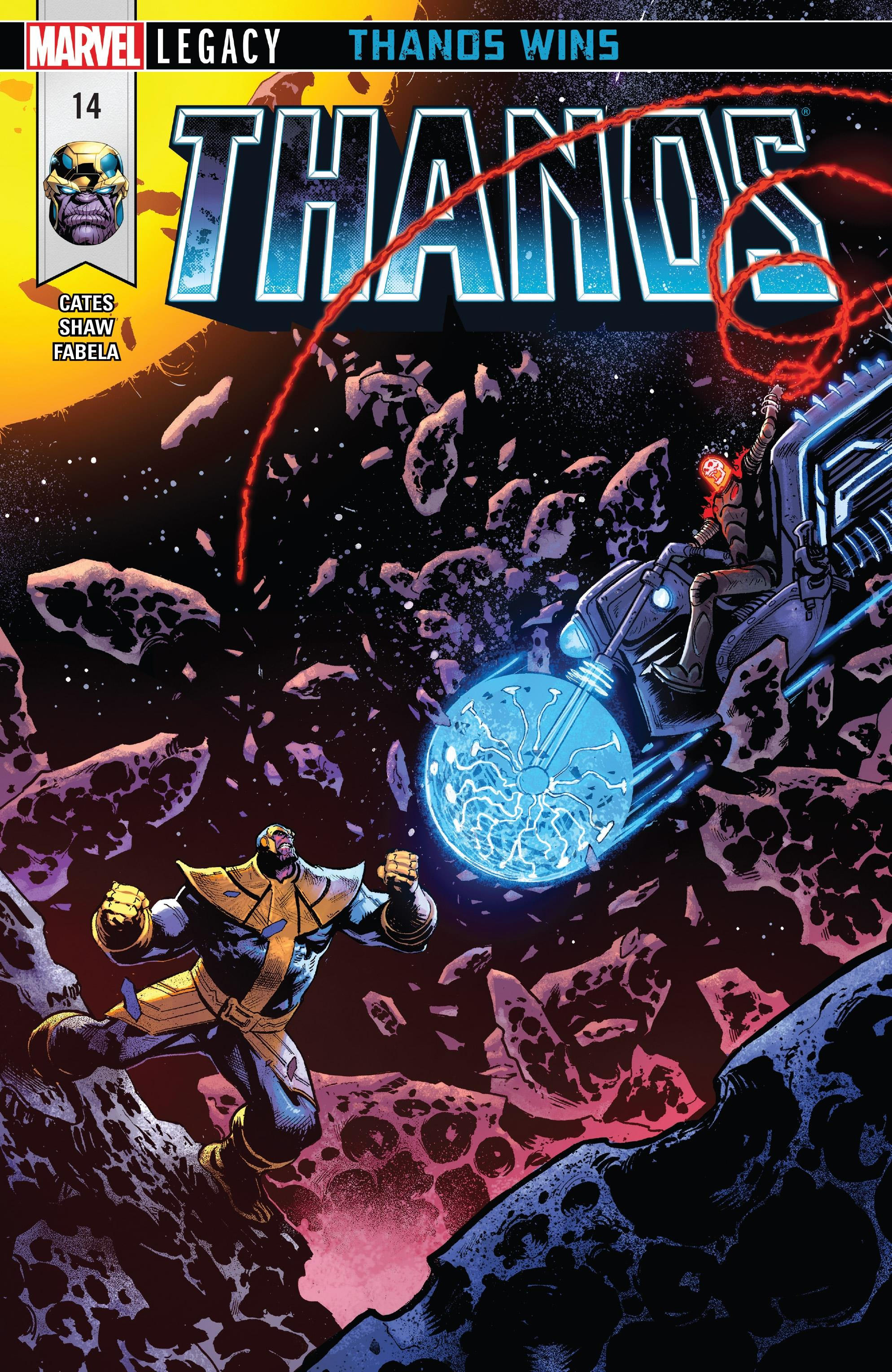 Review Thanos 14 At The End The Marvel Report