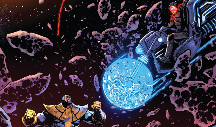 Thanos #14 Review Feature Cover