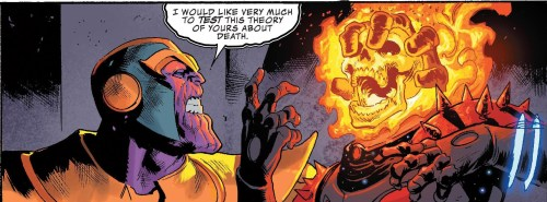 Thanos #14 Review Future Ghost Rider