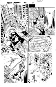 Dan Slott Amazing Spider-Man #797 Unfinished Page - 01