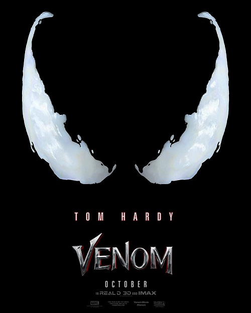 Venom movie poster Tom Hardy