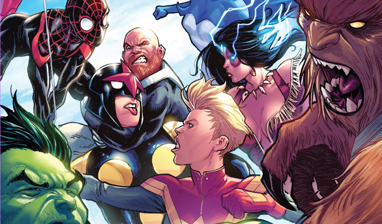 Champions #21 Review Cover Champons vs. Alpha Flight Featured