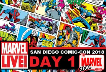 Marvel LIVE SDCC Day 1