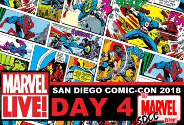 Marvel LIVE SDCC 2018 Day 4