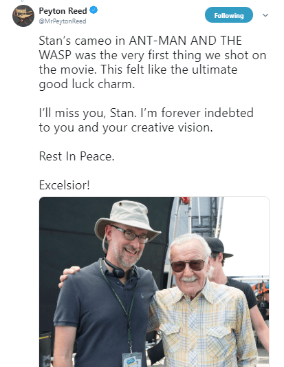 Stan Lee Peyton Reed
