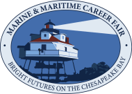 Marine Maritime Career Fair Event Logo