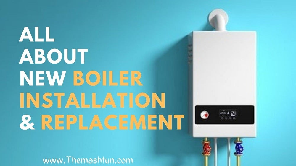 new boiler cost including installation