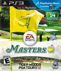 Tiger Woods PGA TOUR 12 The Masters Standard Edition Video Games – Playstation 3
