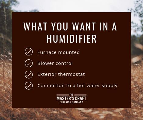 humidifier guide