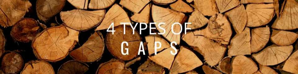 4 types of gaps