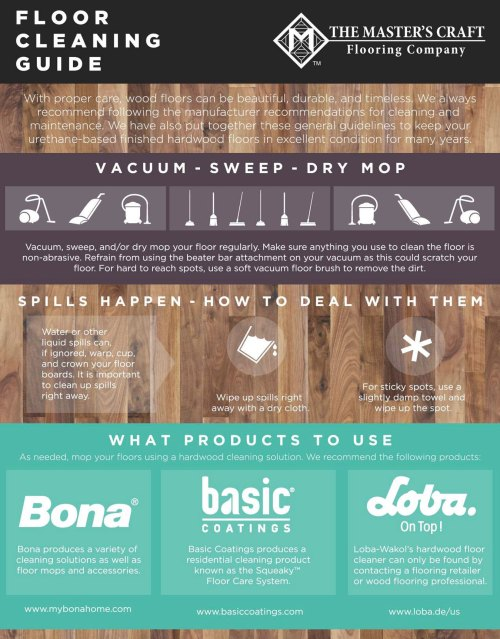 Wood Floor Cleaning Guide