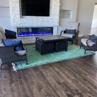 Homeowner did a complete remodel of main level removing all existing Oak and carpet replacing with Blue River Mesa