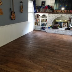Beautiful Espresso Duraseal Stain & Masterline Satin Polyurathane completed this project. Thanks Masterscraft! <br /> <small>Photographer: Corbie Leslie </small><small>    Location: North Kansas City </small><small>    Business: Osage Hardwood Flooring </small><br />