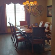 3000 sf put down in a beautiful country home in New Mexico! And of course, they use Real Clean Floors cleaning kit!