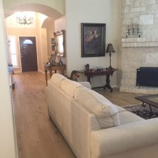 Palladio Whiskey installed in a living room.  <br /> <small>Photographer: Jenn Hodges </small><small>    Location: Austin Texas </small><small>    Business: Stratum Floors </small><br />