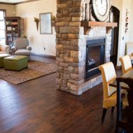 Durango Guinness floor installed in a West Plains home.