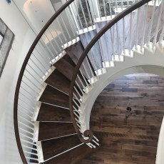 """Storehouse """"Barrel"""" installed in a Houston home. <br /> <small>Location: Houston, TX </small><small>Business: Adore Wood Floors </small><br />"""
