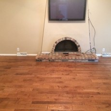 Living room addition. <br /> <small>Photographer: Jennifer Spiker </small><small>    Location: Omaha, Nebraska </small><small>    Business: Husker Hardwood Floors </small><br />