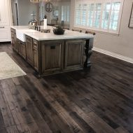 """Storehouse """"Barrel"""" White Oak floor from Real Wood Floors installed in a kitchen in Altus, OK."""