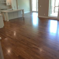 """6"""" Walnut with Emulsion installed by Mike Rangel in Kansas City.  <br />"""