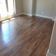 "6"" Walnut with Emulsion installed by Mike Rangel in Kansas City."