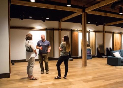 Real Wood Floors prefinished showroom