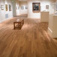 Teckton White Oak Natural installed in Gibbes Museum of Art in Charleston, SC.