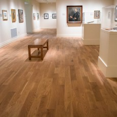 Teckton White Oak Natural installed in Gibbes Museum of Art in Charleston, SC. <br /> <small>    Location: Charleston, SC </small><small>    Business: Teckton </small><br />