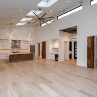 Vintage Loft Gristmill (European White Oak) from Real Wood Floors installed by Royal Flooring in Cedar Rapids.