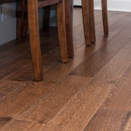 "Rift & Quartered White Oak, Available in 4"", 5"", 6"" and solid or engineered. © Graf Custom Hardwood"