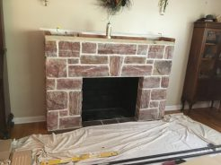 Fireplace - Before