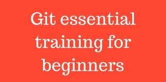 Git essential training for beginners