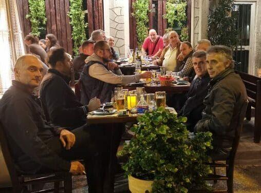 Το τραπέζι του Διαγόρα Βραχνεΐκων στους αθλητικογράφους