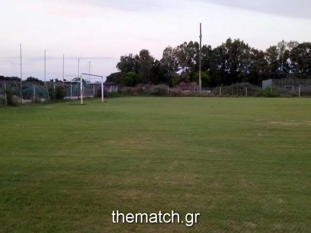Πρασίνισε το Δημοτικό γήπεδο Λιμνοχωρίου (φωτό)