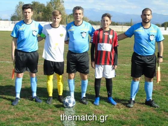 Πρωτάθλημα Παίδων Ε.Π.Σ.Α:  Αχαϊκή - Πανμοβριακός Ριόλου 5-1 (φωτό)