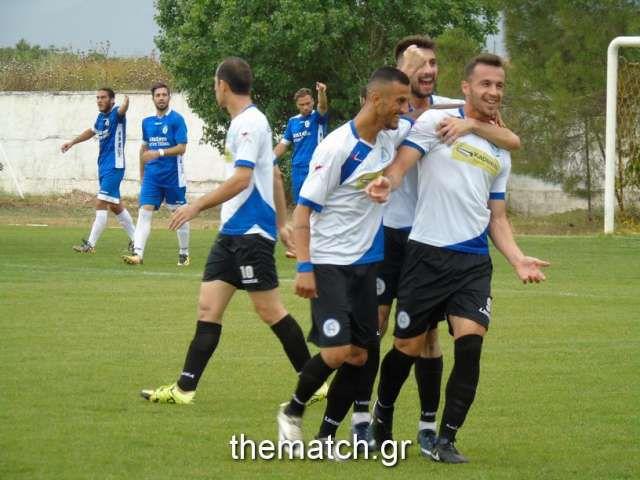 Προημ/κός Κυπέλλου Ερασιτεχνών: Νέος Αμφίλοχος - Κηφισιά 3-0 (φωτό)