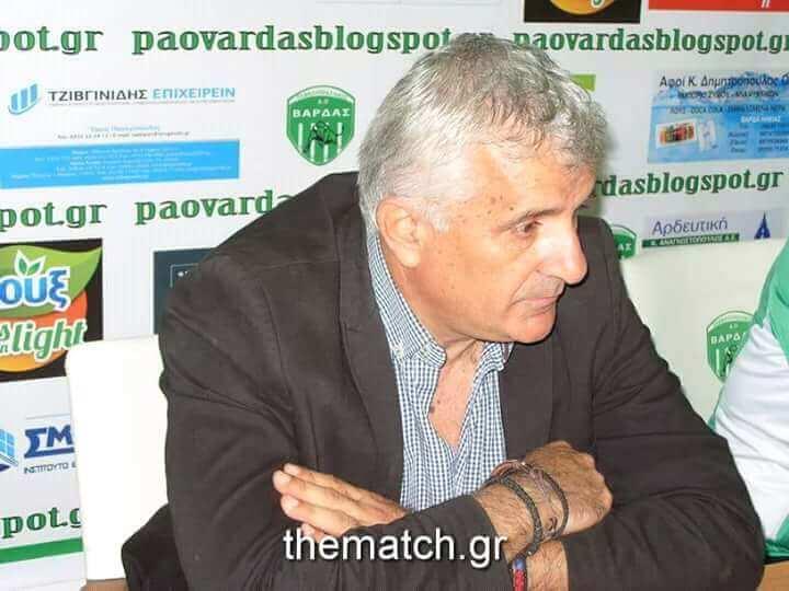 Επαφές ΠΑΟ Βάρδας με Μίκι Τσίρκοβιτς