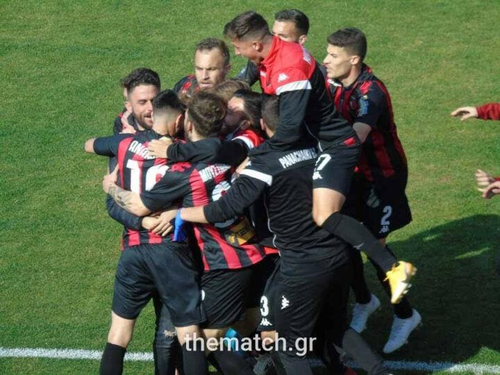 Ισοπαλία της Παναχαϊκής 1-1 με Απόλλων Λάρισας