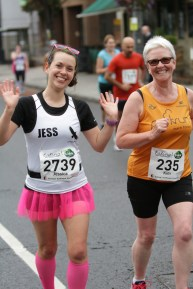 Happy girls - even after all those miles