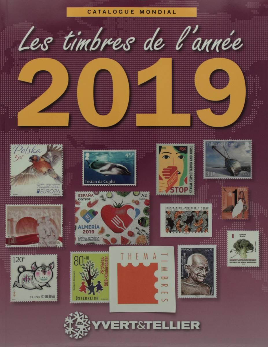 Catalogue Yvert Et Tellier 2019 : catalogue, yvert, tellier, Timbres, L'année, Yvert, Tellier, Catalogue, Mondial