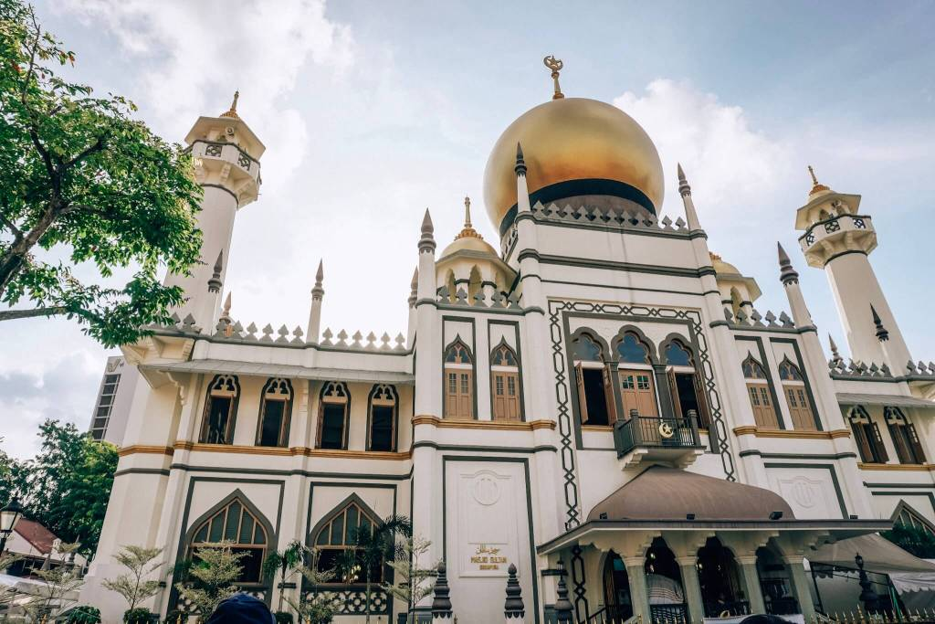 Sultan Mosque Arab street Singapore