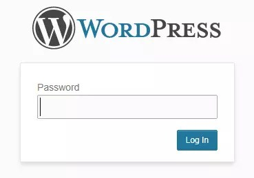 Password Protected - WordPress plugin that locks in website without user registration